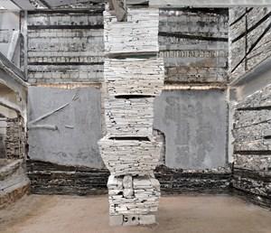 Destroyed House Gaza 10 by Marjan Teeuwen contemporary artwork