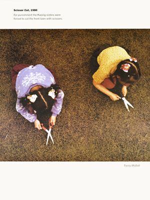 Scissor Cut, 1980 by Tracey Moffatt contemporary artwork