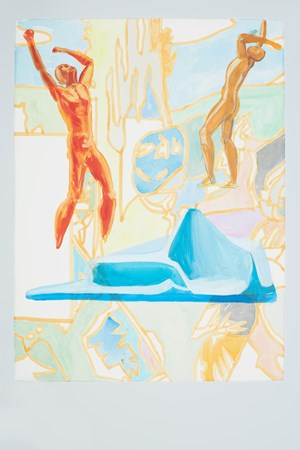 Untitled by David Salle contemporary artwork