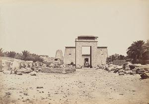 Karnak Porte Ptolomuique avec les Iphium by Pascal Sébah contemporary artwork