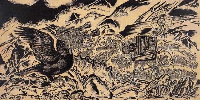 Time Spy 05 by Sun Xun contemporary artwork