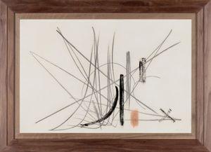 Composition by Hans Hartung contemporary artwork