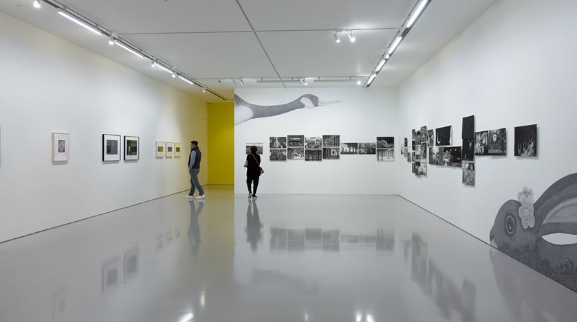 Exhibition view: Jimmy Liao, Murmurs in the Studio, Eslite Gallery, Taipei (5 March–10 April 2021). Courtesy Eslite Gallery.