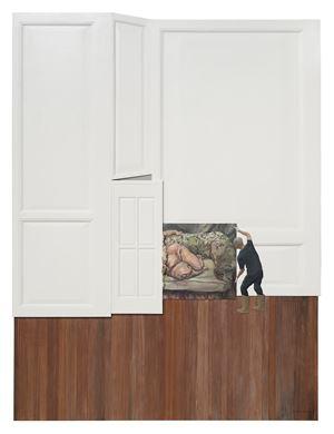 Moving a Sofa 搬沙发 by Huang Yishan contemporary artwork