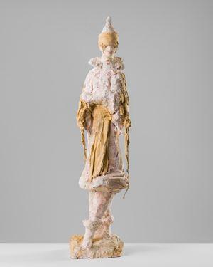Poiret in fancy dress 1914 by Linda Marrinon contemporary artwork sculpture