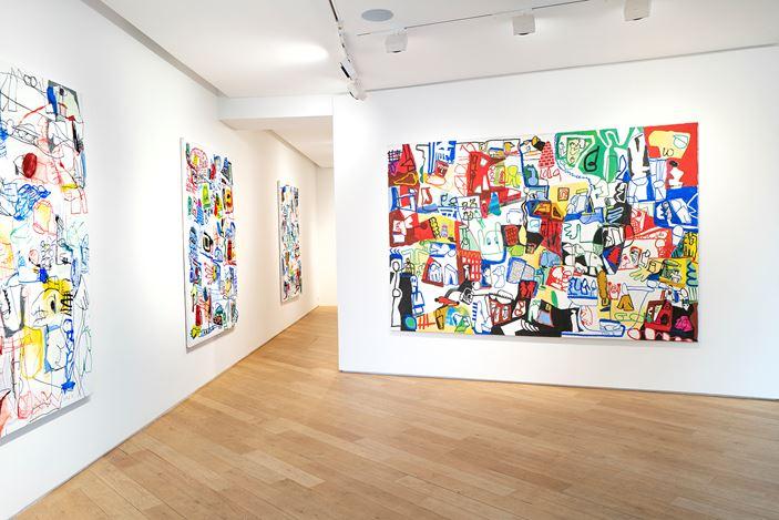 Exhibition view: Jan Voss, A l'écoute,Galerie Lelong & Co. Paris, Avenue Matignon (14 January–27 February 2021). © Jan Voss. Courtesy Galerie Lelong & Co. Photo: Fabrice Gibert.