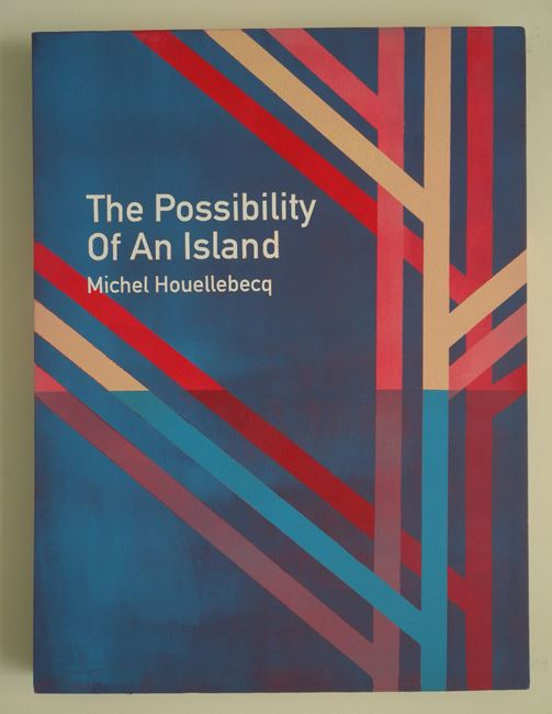 The Possibility of An Island / Michel Houellebecq (4) by Heman Chong contemporary artwork