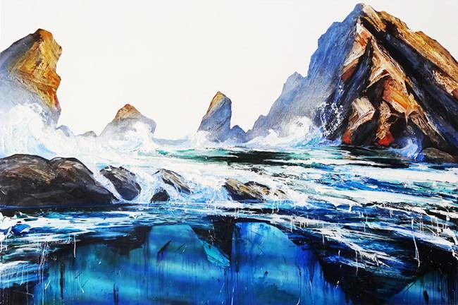 Western Wave by Neil Frazer contemporary artwork