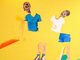 A Painter Who Cuts Up Figures with 'Knife-Edge Stuff'