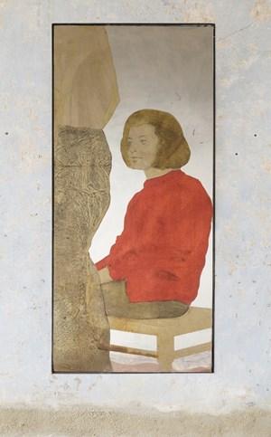 Esperimento per due figure by Michelangelo Pistoletto contemporary artwork