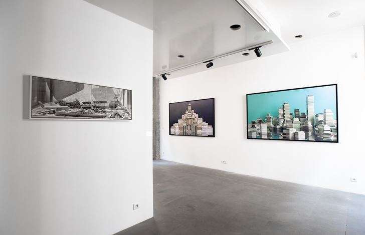 Exhibition view: Ji Zhou, Poussières d'étoiles 星尘, A2Z Art Gallery, Paris (14 November–14 December 2019). Courtesy A2Z Art Gallery.