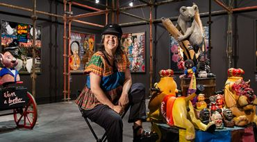 Karla Dickens: 'the more you know the rules, the more fun it is to break them'