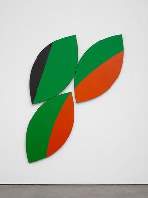 Constellation Red Green Black by Leon Polk Smith contemporary artwork