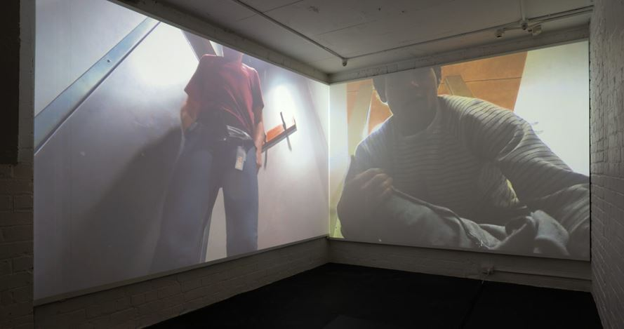 Exhibition view: Campbell Patterson, diaries, Michael Lett (7 September–5 October 2019). Courtesy Michael Lett.
