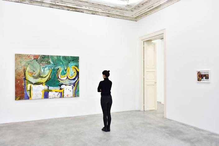 Exhibition view: Gerasimos Floratos, Psychogeography, Almine Rech, Paris (20 November 2020–8 January 2021). © Gerasimos Floratos. Courtesy the Artist and Almine Rech.Photo: Rebecca Fanuele.