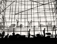 'Construction', Hong Kong by Fan Ho contemporary artwork photography