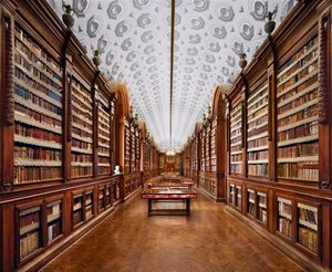 Biblioteca Bodoniana, Parma by Ahmet Ertug contemporary artwork