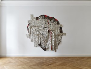 Blood of Sweat by El Anatsui contemporary artwork