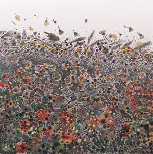 Autumn Wind No.2 by Shen Ling contemporary artwork painting