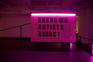 Unknown Artists Agency by Wang Xin contemporary artwork