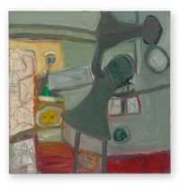No title by Eva Hesse contemporary artwork painting
