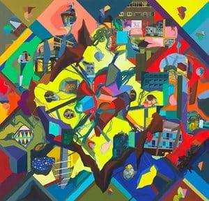 chess Me by Franz Ackermann contemporary artwork
