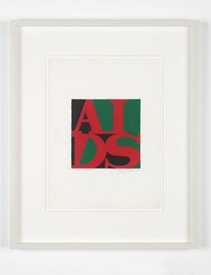 AIDS (Marcus Garvey) by General Idea contemporary artwork
