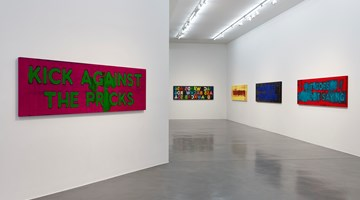 Contemporary art exhibition, Mel Bochner, Exasperations at Simon Lee Gallery, London