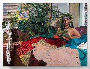 Tiningo' si Sirena by Gisela McDaniel contemporary artwork