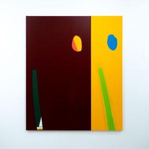 Retina rehab (2 parts) by Ed Bats contemporary artwork
