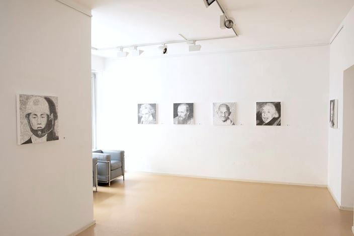 Exhibition view: Keita Sagaki, Hystorical Portraits, Micheko Galerie, Munich (29 October–19 December 2020). Courtesy Micheko Galerie.