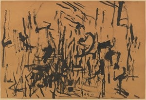 October Fall by Philip Guston contemporary artwork
