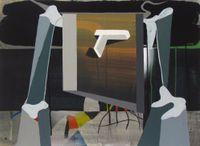 Thriller by Julian Hooper contemporary artwork painting