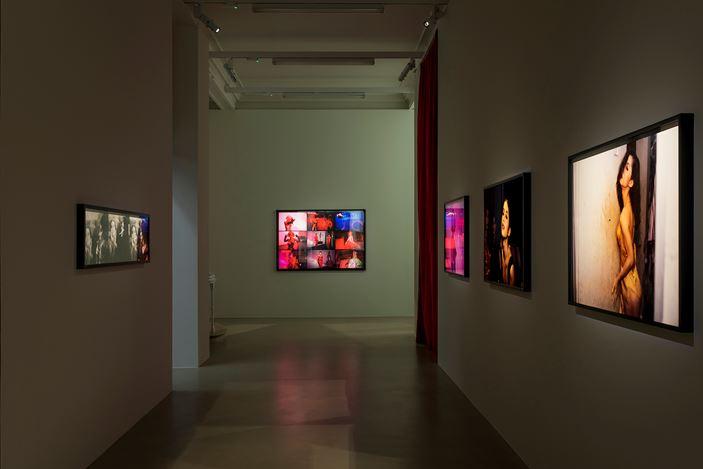 Exhibition view: Nan Goldin,Sirens, Marian Goodman Gallery, London (14 November 2019–11 January 2020). Courtesy the artist and Marian Goodman Gallery.