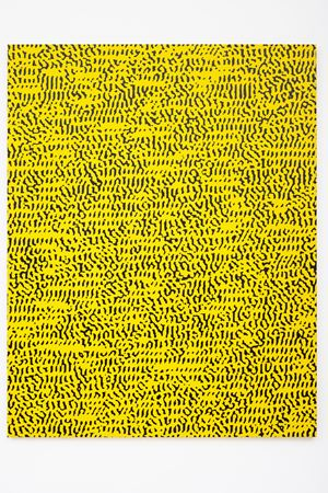 Study 151 - 158 (from the Eyecodex of the Monochrome) by Navid Nuur contemporary artwork