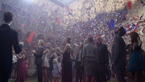 """the """"confetti"""" piece by David Claerbout contemporary artwork"""