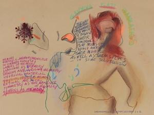 Une Italienne Nommée Carmen by Anne-Mie Van Kerckhoven contemporary artwork