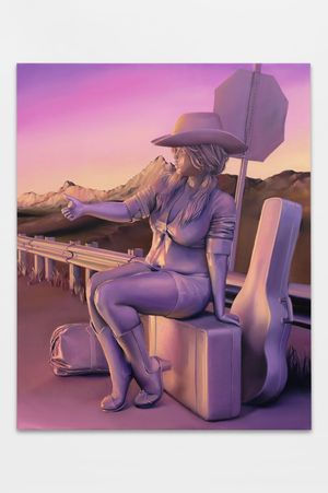 Blossom (baggage) by Emma Stern contemporary artwork
