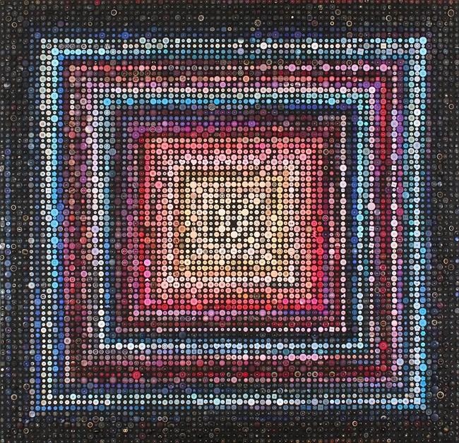 Afinidades cromáticas VII [Chromatic affinities VII]  by José Patrício contemporary artwork