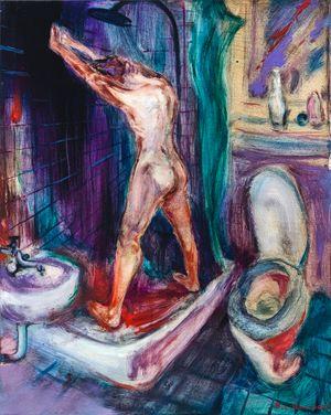 Cold Bath by Rao Fu contemporary artwork