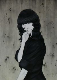 Greed by Yu Kawashima contemporary artwork painting, works on paper, drawing