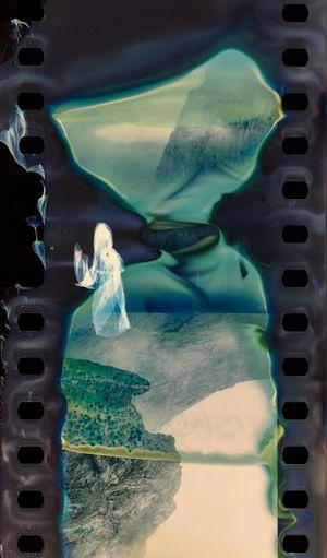Erosion - Abujicuo No.3 by Hu Weiyi contemporary artwork print