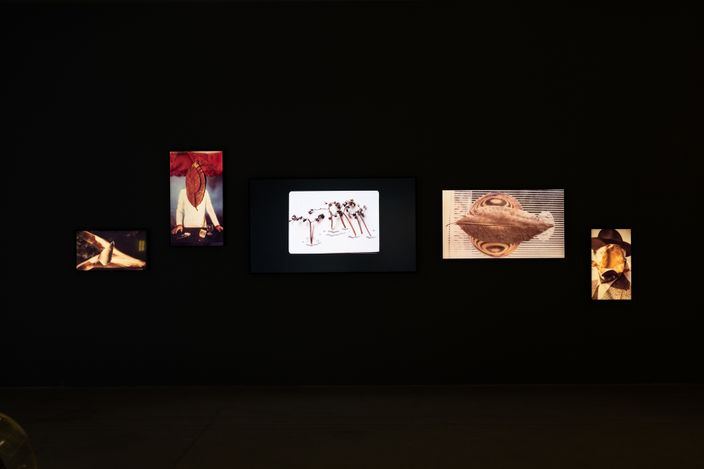 Exhibition view: Portals, Stories and Other Journeys, Asia Art Archive, Hong Kong (23 April–1 August 2021). Courtesy Asia Art Archive.