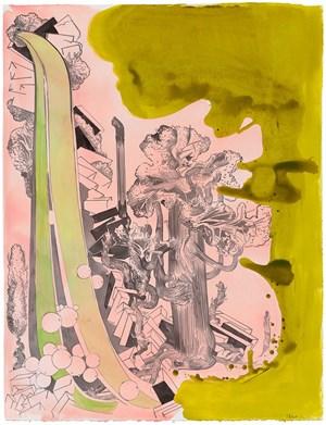 Green Flow (aus der Serie 'Wild Island') by Susanne Kühn contemporary artwork