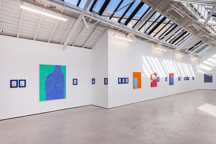 Exhibition view: Julia Chiang, Holding My Breath Moving Closer Closer, The Modern Institute, Osborne Street, Glasgow (30 September–6 November 2020).Courtesy the Artist and The Modern Institute/Toby Webster Ltd, Glasgow.Photo: Patrick Jameson