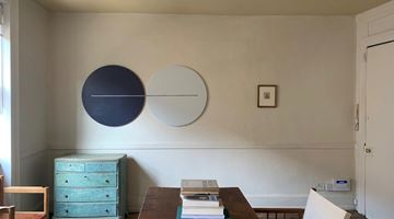 Contemporary art exhibition, Paul Cezanne, Tess Jaray, Paul Cezanne: Drawings | Tess Jaray: Roundels at Room 2, Soho, London