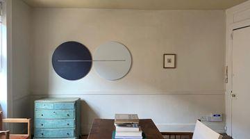 Contemporary art exhibition, Paul Cezanne, Tess Jaray, Paul Cezanne: Drawings | Tess Jaray: Roundels at Room 2, Soho, London