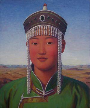 Naren Tuya by Xue Mo contemporary artwork