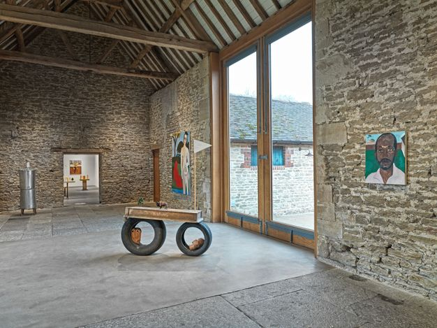 Exhibition view: Henry Taylor, Hauser & Wirth, Somerset (26 February–6 June 2021). © Henry Taylor. Courtesy the artist and Hauser & Wirth. Photo: Ken Adlard.