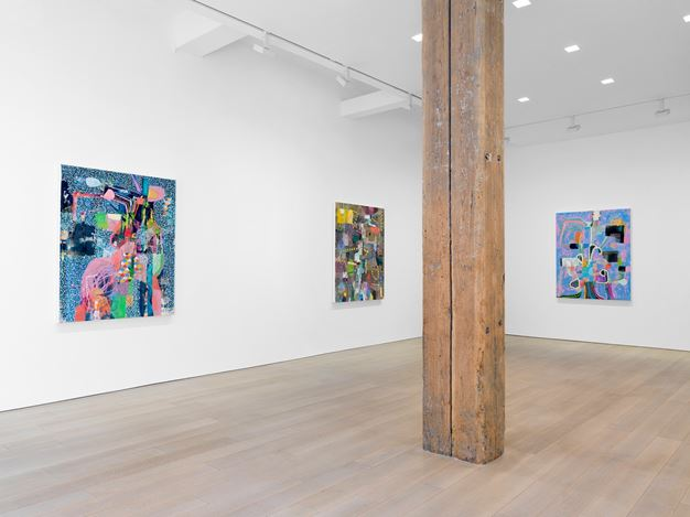 Exhibition view: Tomory Dodge, Miles McEnery Gallery,525 West 22ndStreet, New York (18 April–24 May 2019). Courtesy Miles McEnery Gallery.